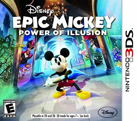Disney Epic Mickey 2: The Power of Illusion 3DS