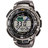 Casio Pro Trek Digital Watch for Him With compass ~ Casio
