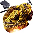 L-Drago Destructor Destroy Gold Armored Beyblade STARTER SET w/ Launcher Ripcord+Free fabric bag Beyblade put* ...