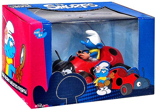 Goldie The Smurfs Small Radio Control Car Vanity Smurf - 1