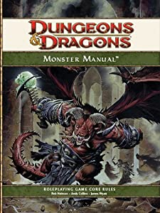 Dungeons & Dragons Monster Manual: Roleplaying Game Core Rules, 4th Edition by Wizards RPG Team