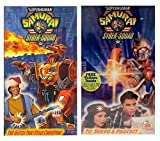 Superhuman Samurai Syber-Squad - The Glitch That Stole Christmas / To Servo and Protect VHS