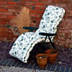 Garden Relaxer Chair With Cushion Oxf...