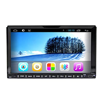 "Rungrace Station Multimedia Universelle Navigation Android 4.2 7"" In-Dash Multi-Touch avec WIFI, GPS, RDS, iPod, Bluetooth (RL-202AGNR"