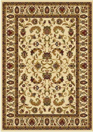 Home Dynamix Area Rugs: Royalty Rug: 3208-100 Ivory 7'8