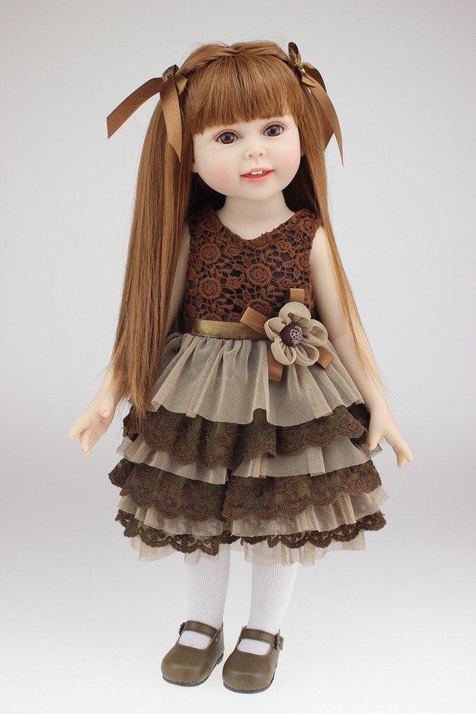 NPK Collection Das Kinderspielzeug ist aus Kunststoff und 18 Zoll 45 cm gro?. Es ist ein hochwertiges Geschenk f¨¹r sch?ne als Weihnachtsgeschenke. günstig