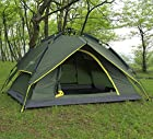 Waterproof Double layer Automatic Instant Camping Family Pop Up Umbrella Tent