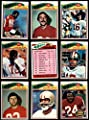 1977 Topps San Francisco 49ers Team Set San Francisco 49ers (Baseball Set) Dean's Cards 6.5 - EX/MT+