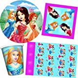 Fairy Princess Party Tableware pack for 8