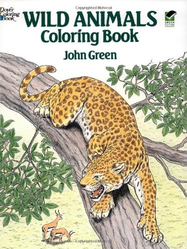 Wild Animals Coloring Book (Dover Nature Coloring Book), Buch