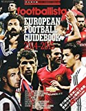 footballista EUROPEAN FOOTBALL GUIDEBOOK 2014-2015