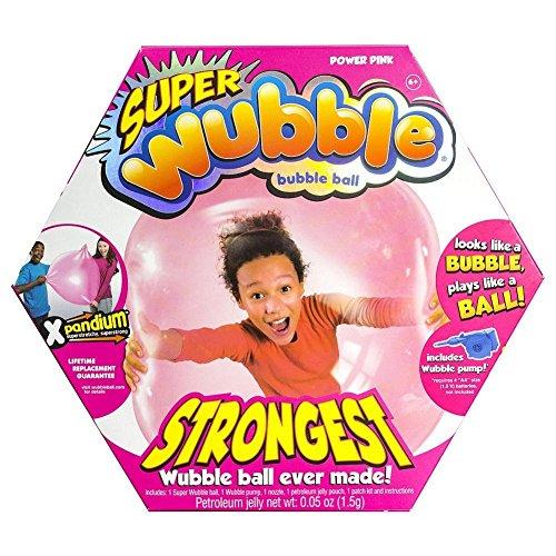 The Amazing Tear-Resistant Super Wubble Bubble Ball - Pink