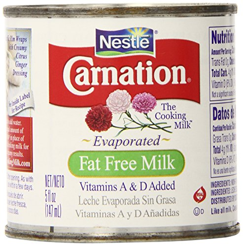 Carnation Evaporated Milk Fat Free, 5-Ounce Cans (Pack of 24) (Canned Evaporated Milk compare prices)