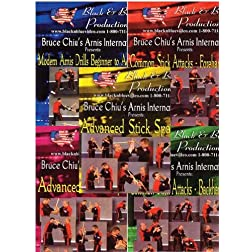 Bruce Chiu's Arnis International - 5 DVDs set