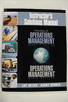 operation management 9th edition manual of chapter 8 Solutions manual for operations management 9th by jay heizer barry render sm  test bank for c ++ how to program deitel 6th edition solution manual and test bank .