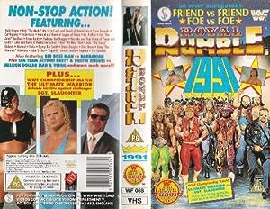 Royal Rumble 1991 VHS Video Cassette