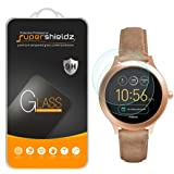 Supershieldz [2-Pack] for Fossil Q Venture Gen 3 Smartwatch Tempered Glass Screen Protector, [Full Screen Coverage] Anti-Scratch, Bubble Free, Lifetime Replacement
