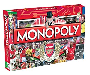Arsenal Football Monopoly board game