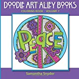 Peace: Coloring Book (Doodle Art Alley Books) (Volume 7)