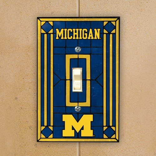 Michigan Art Glass Lightswitch Cover (Office Wall Cover compare prices)