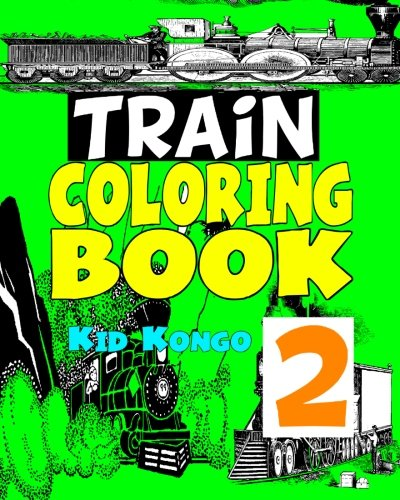 Trains Coloring Book 2
