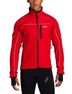 Gore Bike Wear Men's Cosmo SO Jacket, Medium, Red