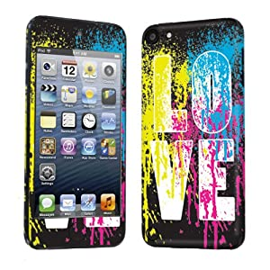 Apple iPod Touch 5 ( 5th Generation ) Decal Vinyl Skin Love Paint- By SkinGuardz