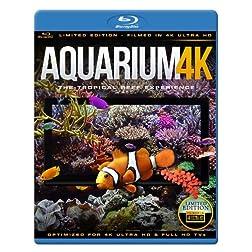 AQUARIUM 4K - The Tropical Reef Experience [Blu-ray]