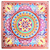 Diwali Special Rangoli Medium Sparkle Sticker