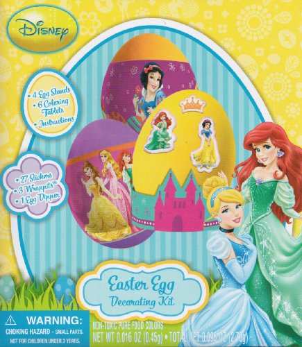 Licenced Easter Egg Decorating Kit (Disney Princesses)