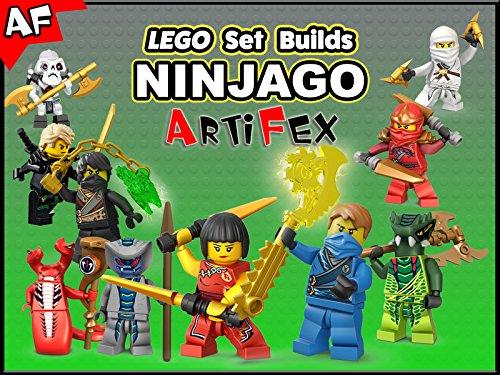 Clip: Lego Set Builds Ninjago - Season 6