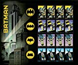 Batman Full Sheet of 20 Forever Stamps 2014 USPS Exclusive