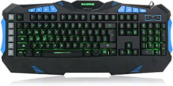 Masione LED USB Gaming Keyboard