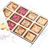 Diwali Gifts Sugarfree Sweets- Natural Fruit Assorted Sugarfree Sweets White Box