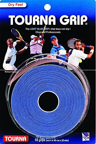 Tourna Grip Xl Overgrip Da Tennis (Confezione Da 10 Grips), Blu