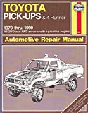Toyota Pick-up and 4-Runner 1979-90, All 2WD and 4WD Models Owners Workshop Manual