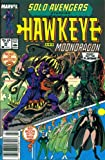 img - for Solo Avengers #20 : Featuring Hawkeye and Moondragon (Marvel Comics) book / textbook / text book
