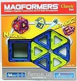 マグフォーマー 14ピース 青/黄 セット Magformers 14 piece CLASSIC COLORS set 並行輸入品