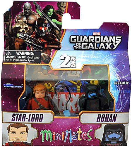 Guardians of The Galaxy Minimates Series 57 Mini Figure 2-Pack Star-Lord & Ronan