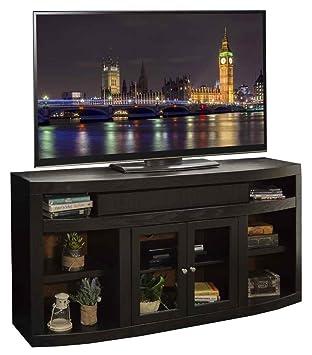 65.5 in. TV Cabinet in Mocha Finish