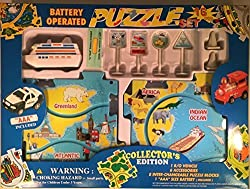 Puzzle Car Set - Battery Operated Cruise Ship