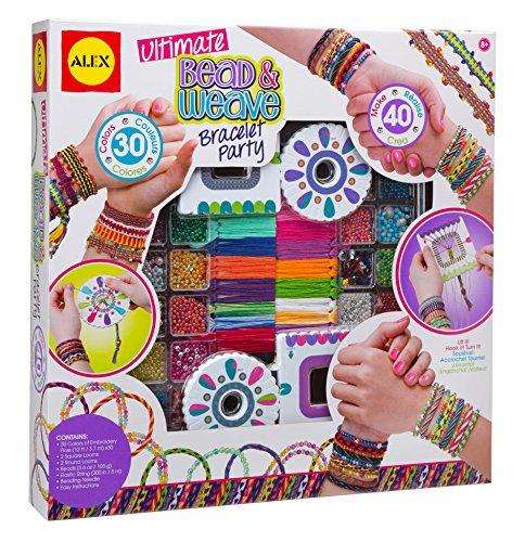 Alex Toys Diy Wear - 137p - Le Kit Bracelets A Perles Et A Tisser