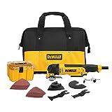 DEWALT DWE315K Multi Material Corded Oscillating Tool Kit (Color: Yellow)