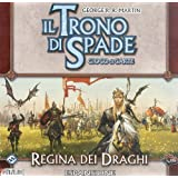 Giochi Uniti - Regina dei Draghi [Espansione per Il Trono di Spade, Gioco di Carte]