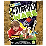 Boy Craft Catapult Wars Build and Battle Kit with 2 Catapults