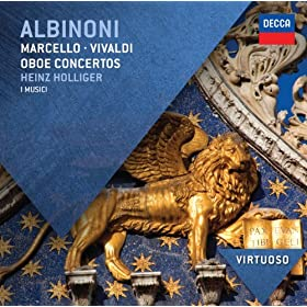 Albinoni: Concerto a 5 in F, Op.9, No.3 for 2 Oboes, Strings, and Continuo - 2. Adagio