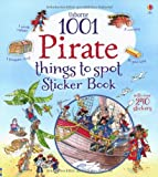 Rob Lloyd Jones 1001 Pirate Things to Spot Sticker Book (1001 Things to Spot Sticker Books) (1001 Things to Spot Sticker Bk)
