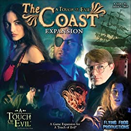 A Touch of Evil, the Supernatural Game Board Game: The Coast Expansion