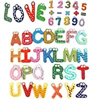 Eucute� 26+10+5pcs Colorful Funny Woo…