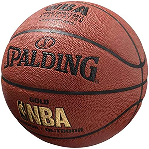 스팔딩[74-077J]골드 레더JBA7 농구 7 호공- (Size:F|Color:GLD)